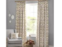 Angel Strawbridge Chateau Potagerie Lined Tape Top Curtains Cream